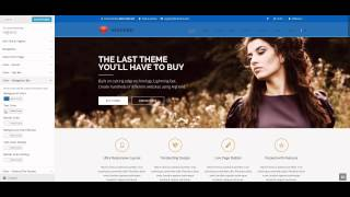 Highend WordPress Theme - Live Customizer