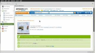 Initial support for the Amazon MP3 store in the Banshee Media Player