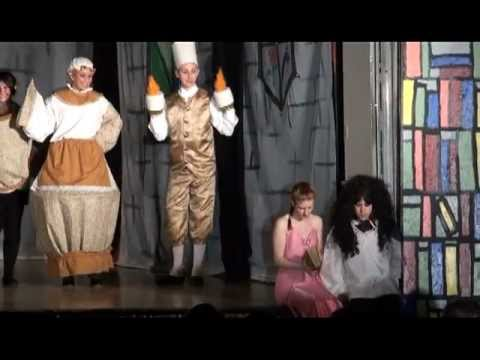 """Something There"" Beauty and the Beast - Columbia High School Drama"