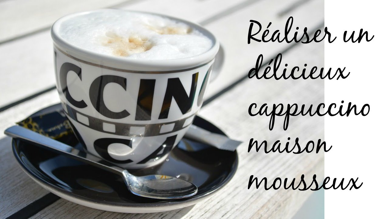 Recette Cappuccino Caf Ef Bf Bd Soluble