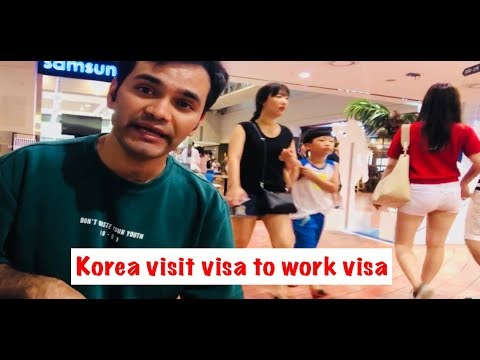 South Korea visit visa to work visa