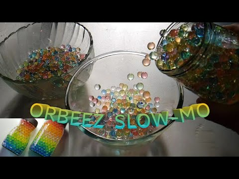 ORBEEZ RELAXATION SLOW-MO COMPILATION | kids toys