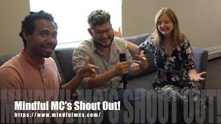 Michael interviews the very insightful Mindful MC's #Music with a Message!