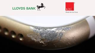 lloyds bank shocking repair job lsg mobile phone insurance cracked screen