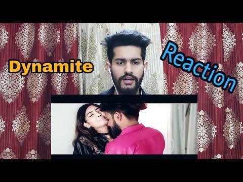 EMIWAY-DYNAMITE | Reaction | OFFICIAL MUSIC VIDEO | Mukta | Ishan Sethi