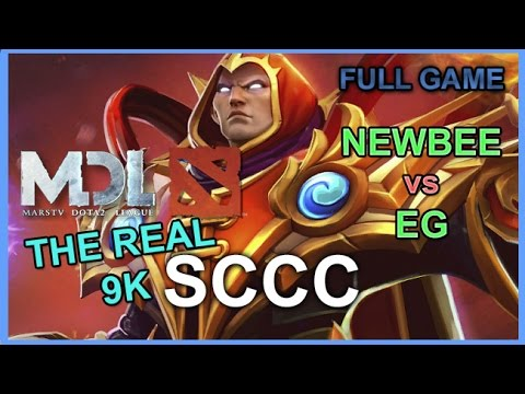 Newbee SCCC Invoker I'm the real 9k vs EG | MarsTV Dota 2 League 2016