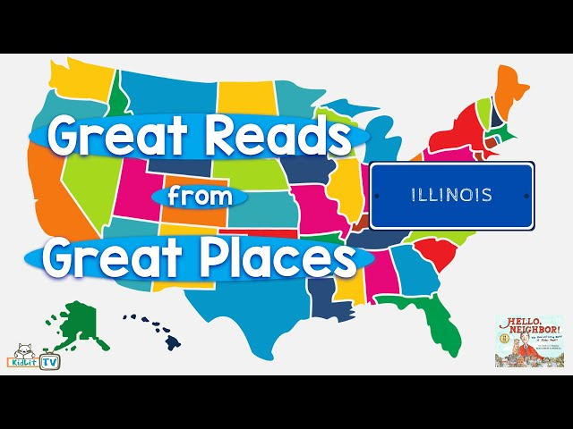 Great Reads from Great Places Matthew Cordell's HELLO, NEIGHBOR!  Illinois