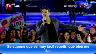 Luis Fonsi /Se Supone /Festival de Viña 2012 /Con Letra [HD]