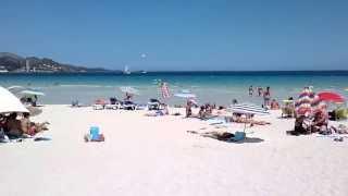 Alcudia 2012,Alcudia beach, Majorca. Junto al Hotel Ivory Playa