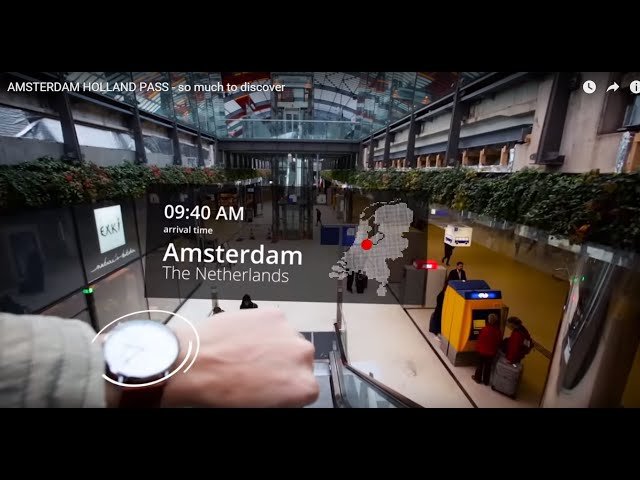 AMSTERDAM HOLLAND PASS - so much to discover