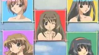 This is the opening theme to the anime series Love♥Love? (which is a comedic Harem anime, for those of you who haven't heard of it). I take no credit for this ...