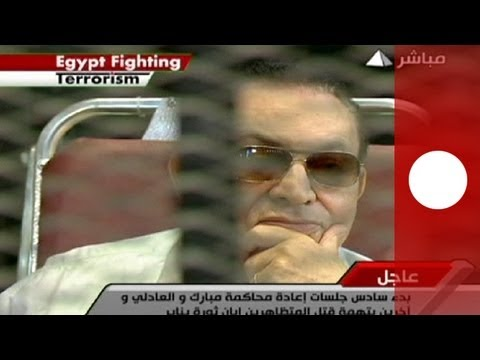 Egypt: Mubarak stands trial, as Muslim Brotherhood case adjourned