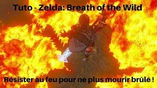 Guide Zelda: Breath of the Wild - Ne pas brûler en allant chez les Gorons (Tenue Feu)