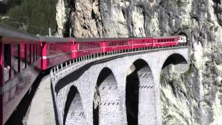 Short Trip on the Bernina Express - Switzerland By Rail