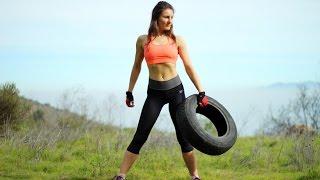 Rutina con RUEDA / LLANTA   Tire workout