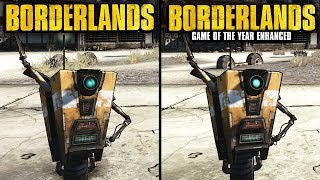 Borderlands Enhanced vs Original | Direct Comparison