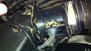 motor audi a6 de gasolina con posible fallo de caudalimetro