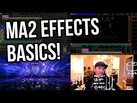 Lighting Programming: MA2 Effects Engine Basics!