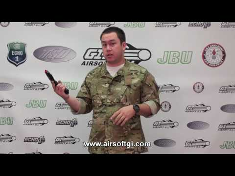 Airsoft GI - KWA Full Metal M1911 PTP Mark Series Pistols