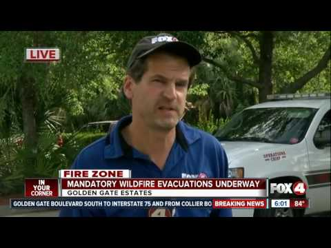 Behind the Collier County Fire Lines