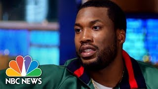 "rapper meek mill tells lester holt ""something is not working"" with us justice system nbc news"