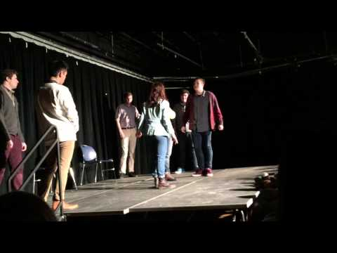 Columbia College Improv Group performs In Washington, DC at Georgetown Univ.