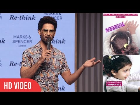 Shahid Kapoor Reaction On Daughter Misha Kapoor New Hair Color Mp3