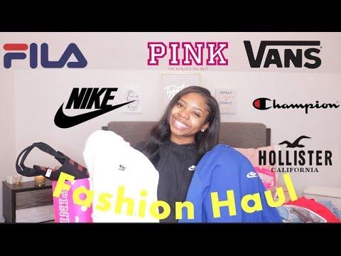 Huge Clothing/Fashion Haul 2019 | Nike, Fashion Nova, Vans, Champion,