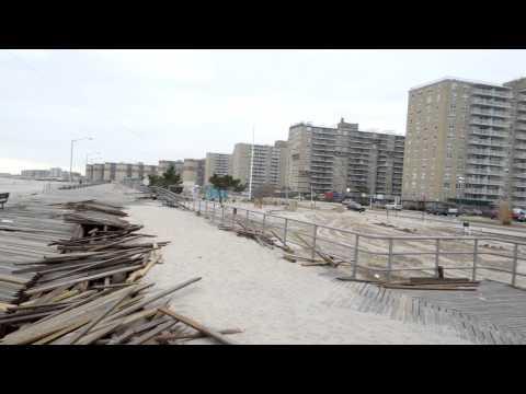ARVERNE NEW YORK - HURRICANE SANDY