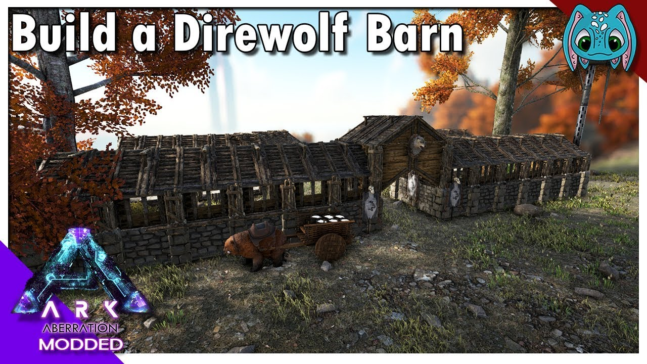 Built a direwolf barn s8ep31 cross ark gaia evolved youtube built a direwolf barn s8ep31 cross ark gaia evolved malvernweather Image collections