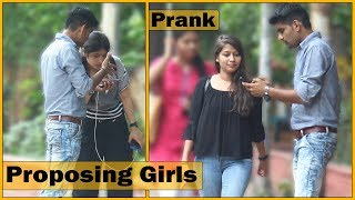 Proposing Girls in Funny Language Prank - Prank In India | The HunGama Films