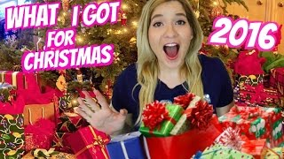 WHAT I GOT FOR CHRISTMAS 2016! | Huge Christmas Gifts Haul!