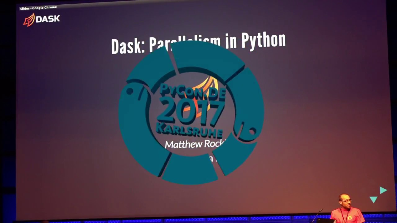 Image from Dask: Next Steps in Parallel Python
