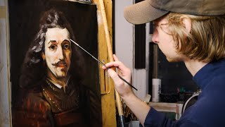 I Painted REMBRANDT at the Metropolitan Museum of Art!