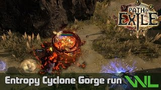 Entropy Cyclone Gorge Run [HC] POE 2.0