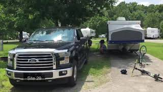 Indiana Brown County Stąte Park Campgrounds