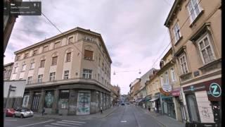 Часть 17. Город Загреб. Part 17. City Zagreb(Картографические данные: Google, DigitalGlobe Map data : Google, DigitalGlobe Видео создано на основе дорожных панорам и Карт Google..., 2016-03-11T16:48:57.000Z)