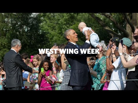 "Thumbnail: West Wing Week 8/05/16 or, ""Little Red Dot"""