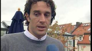 Bayern-Star Luca Toni- UNESCO-Trailer: ...making of...