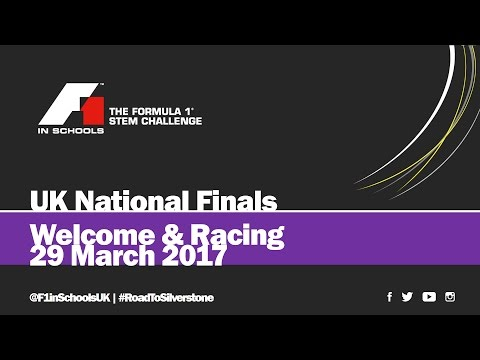 F1 in Schools UK National Final 2017: Day 1 - Welcome & Racing