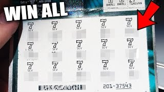 WIN ALL ON AN AIRPLANE!! || HUGE WINNER - Platinum 7's $500,000 Top Prize!