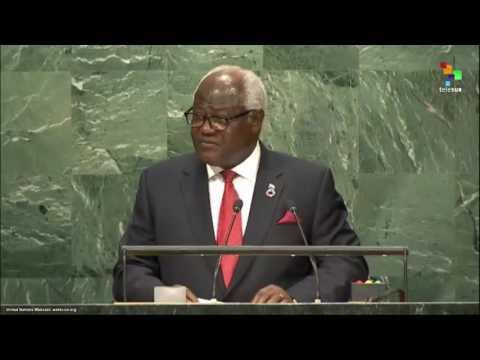 UN Speeches: Sierra Leone President Ernest Bai Koroma