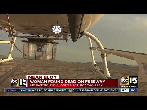 Woman found dead on Interstate 10 near Eloy