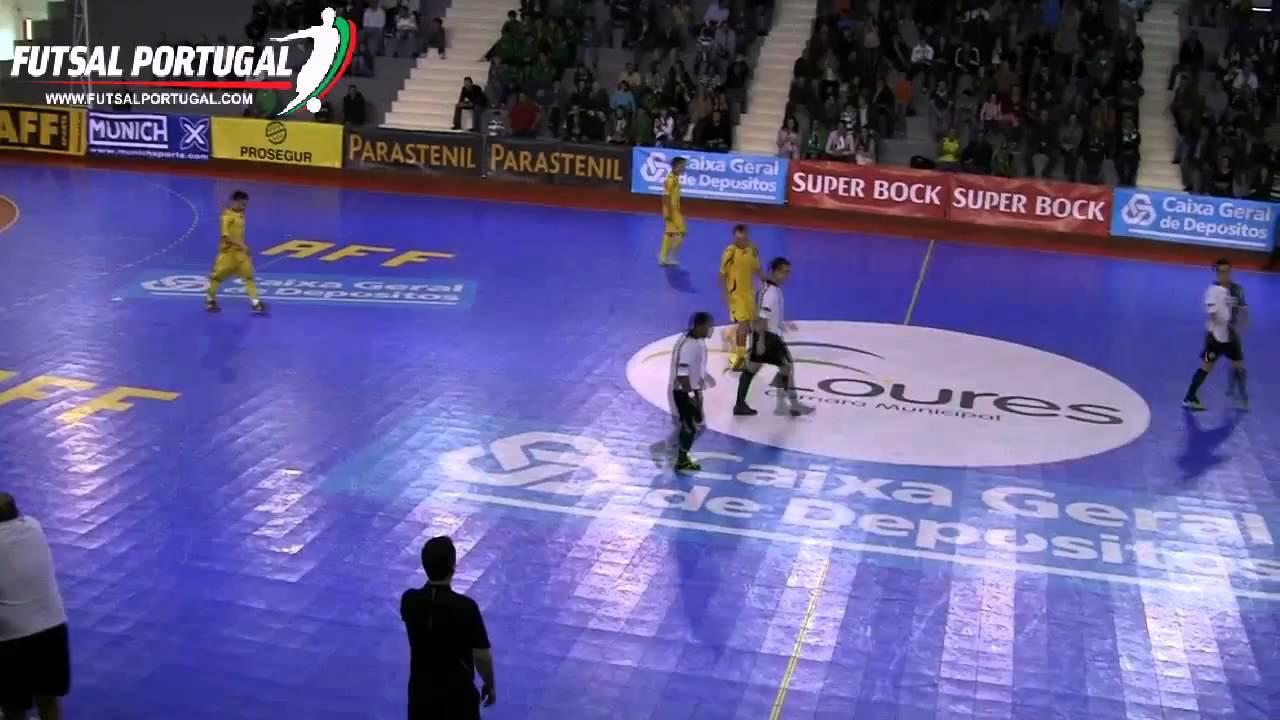 Futsal :: 26J :: Sporting - 3 x AMSAC - 2 de 2010/2011