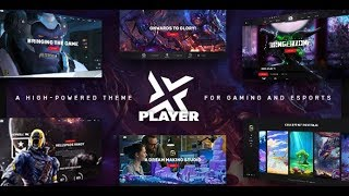 PlayerX v1.5 – A High-powered Theme for Gaming and eSports Nulled