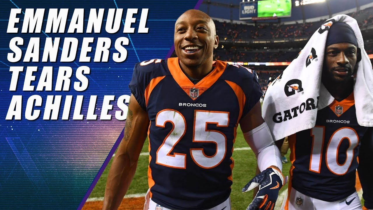 Emmanuel Sanders returns from Achilles injury, will play in Broncos' preseason game with 49ers