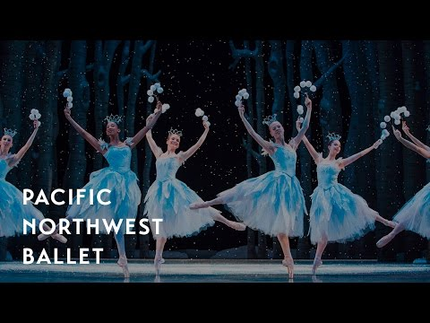 George Balanchine's The Nutcracker® - Waltz of the Snowflakes (Pacific Northwest Ballet)