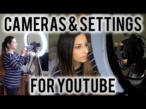 BEST CAMERA FOR YOUTUBE 2016 + Canon 70D Settings for Video | Ysis Lorenna