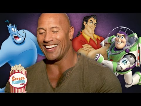 "Dwayne ""The Rock"" Johnson As Your Favorite Disney Characters (Buzz Lightyear, Gaston & The Genie)"