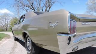 1966 pontiac lemans gold sedan for sale at www coyoteclassics com